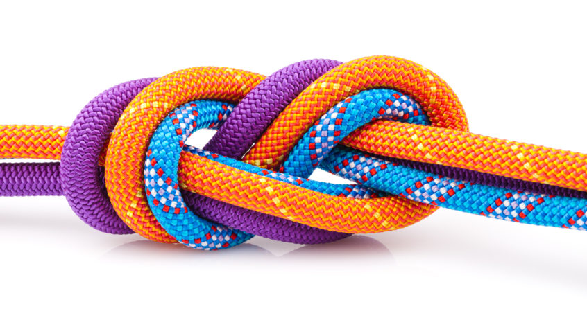 picture of three ropes together
